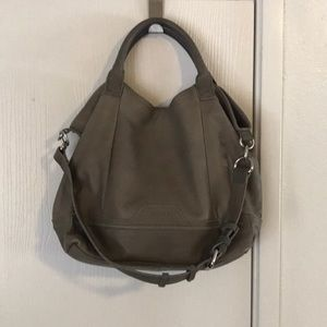 Perlina New York Grey/Green Handbag